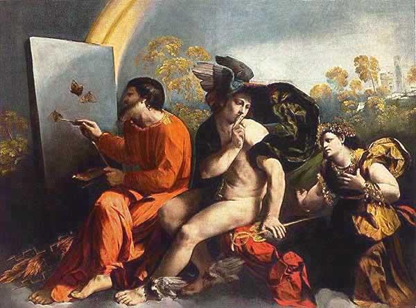"""Jupiter, Mercury & Virtue"" - Dosso Dossi"