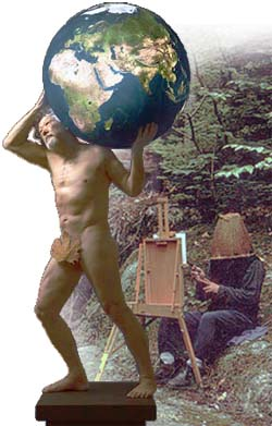 David Suzuki as the Discobolus